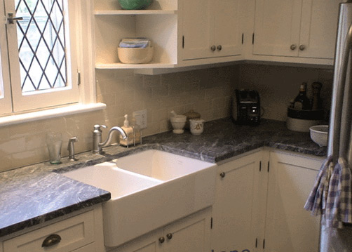 Soapstone kitchen countertops